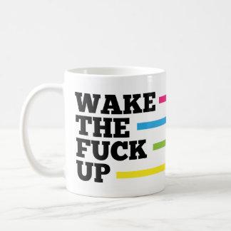 ¡Despierte el F*ck! Taza