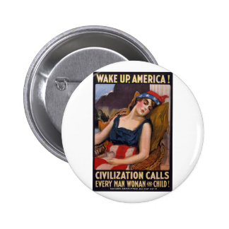 Despierte el poster de América Pin