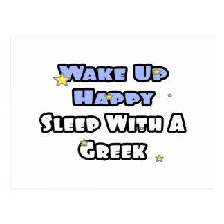 Despierte… el sueño feliz con a postal