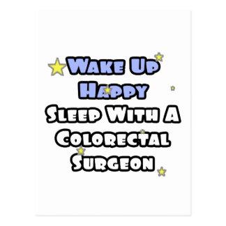 Despierte… el sueño feliz con el cirujano colorrec postal