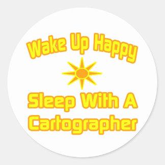 Despierte… el sueño feliz con un cartógrafo etiqueta