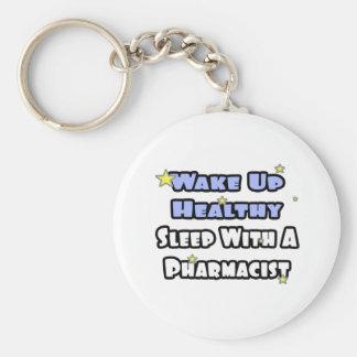 Despierte… el sueño sano con un farmacéutico llaveros personalizados