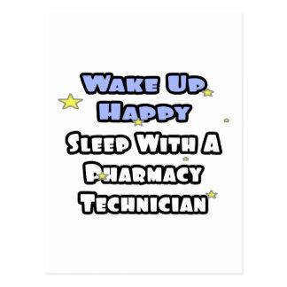 Despierte feliz. Sueño con tecnología de la farmac Tarjeta Postal