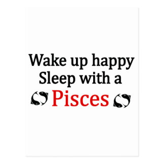 Despierte feliz postal