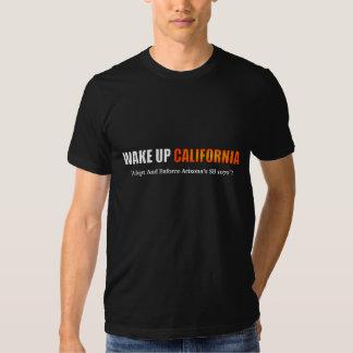 Despierte la camisa de California
