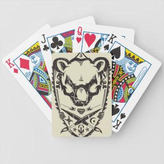 Despierte la universidad baraja cartas de poker