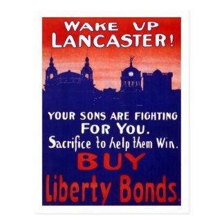 Despierte Lancaster Tarjetas Postales