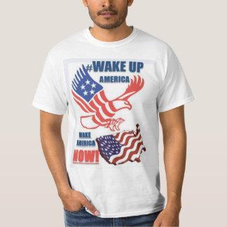 DESPIERTE las camisetas del grito de batalla de