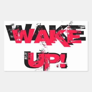 ¡Despierte!  Pegatina