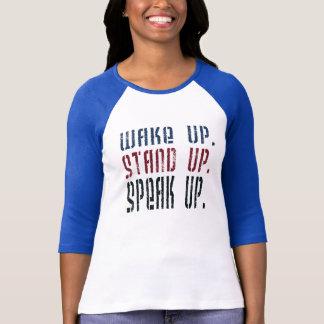 Despierte se colocan para arriba hablan para playera
