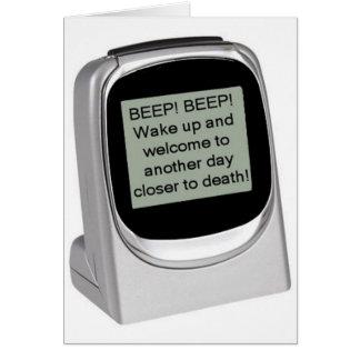 ¡Despierte! Felicitación