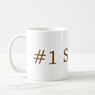 despierte taza básica blanca