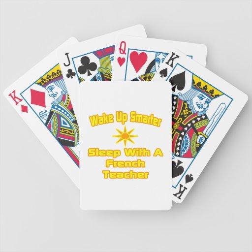Despierte… un sueño más elegante con el profesor f baraja cartas de poker
