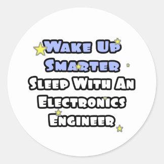 Despierte… un sueño más elegante con inglés de la pegatina