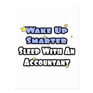 Despierte… un sueño más elegante con un contable tarjeta postal