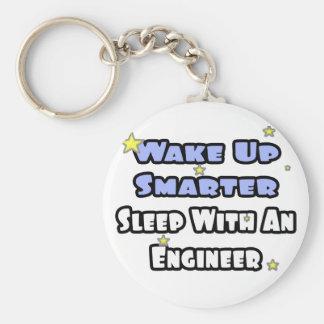 Despierte… un sueño más elegante con un ingeniero llavero redondo tipo pin