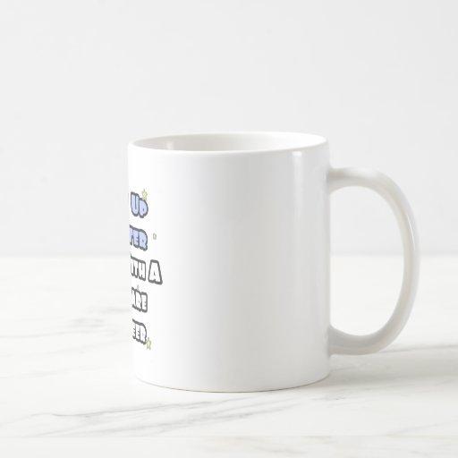 Despierte… un sueño más elegante con una Software  Taza Básica Blanca