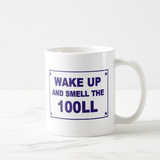 Despierte y huela el 100LL Taza De Café