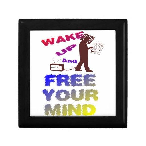 Despierte y libere su mente caja de regalo