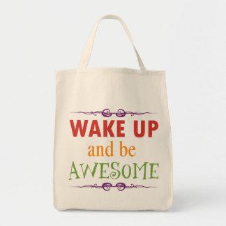 Despierte y sea impresionante bolsa