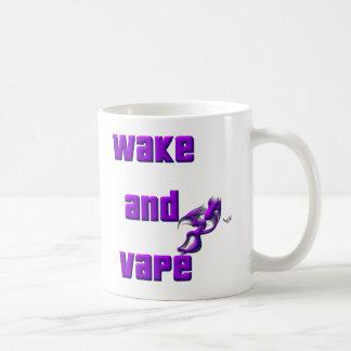despierte y vape taza de café