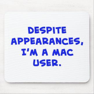 despite appearances, I'm a Mac user Mouse Pad