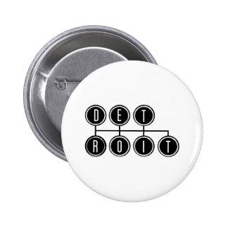 Desplazador de Detroit Pin Redondo 5 Cm
