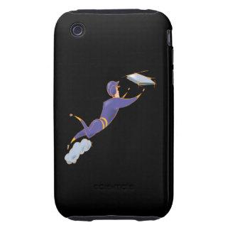 Desplazamiento del softball carcasa though para iPhone 3