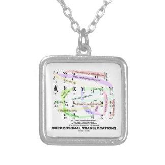 Desplazamientos cromosómicos (Karyogram) Colgante Cuadrado