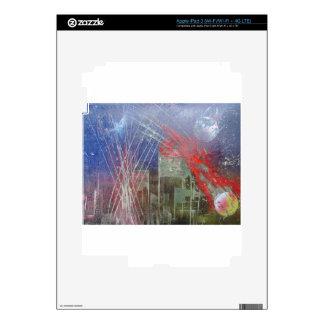 desplome (6).JPG del espacio iPad 3 Pegatina Skin