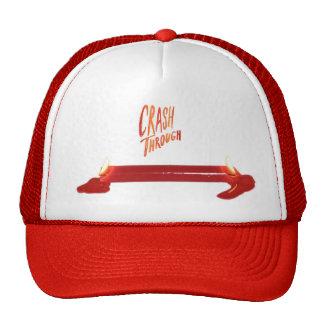 Desplome con el señuelo del gorra del camionero de