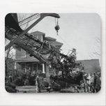 Desplome de aeroplano: 1938 tapete de raton