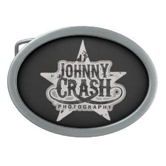 Desplome de Johnny de la hebilla del cinturón del  Hebilla Cinturon Oval