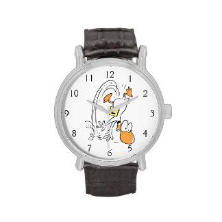 Desplome del pato del tilín relojes de pulsera