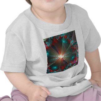 desplome del pixel camisetas