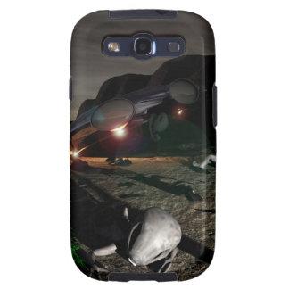 Desplome del UFO de Roswell en la noche Samsung Galaxy S3 Protector