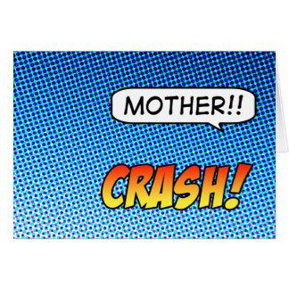 ¡Desplome! Tarjeta del día de madre