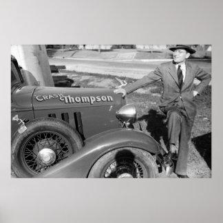 Desplome Thompson 1940 Posters