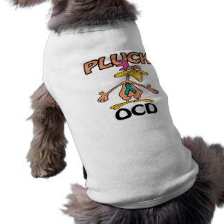 Desplume el diseño de la conciencia de OCD Playera Sin Mangas Para Perro