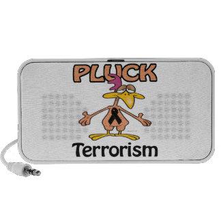 Desplume el diseño de la conciencia del terrorismo iPod altavoz