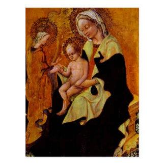 Desposorio de Catherine de Fabriano gentil Tarjeta Postal