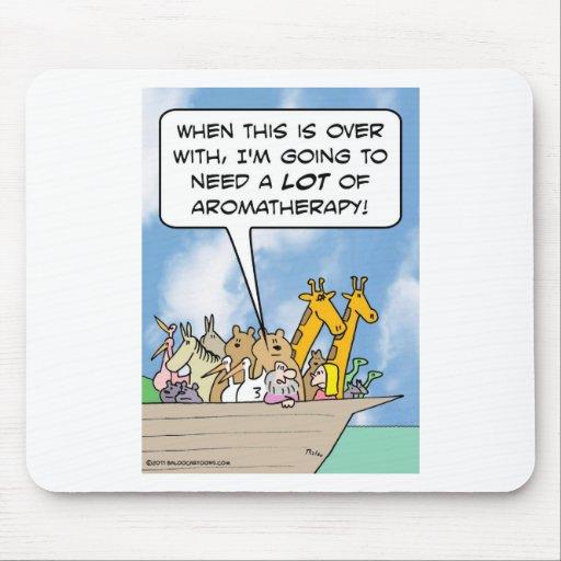 Después de arco, Noah necesitará mucho aromatherap Alfombrilla De Ratón