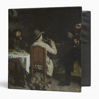 "Después de cena en Ornans, 1848 Carpeta 1 1/2"""