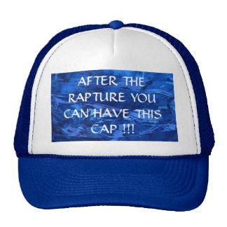Después de éxtasis dé lejos el gorra
