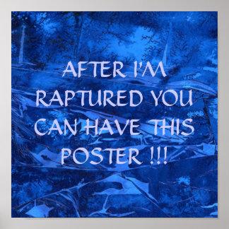 Después de éxtasis dé lejos el poster