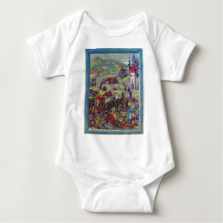 Después de la batalla de Triboltingen en guerra Body Para Bebé