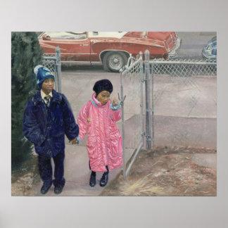 Después de la escuela 1991 póster