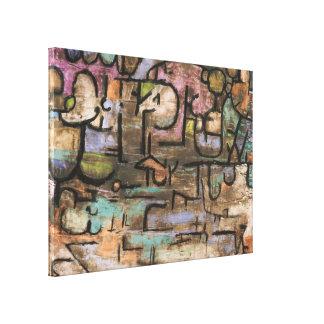 Después de la inundación de Paul Klee Lona Estirada Galerías