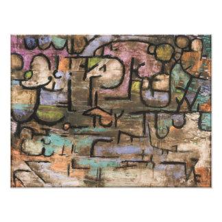 Después de la inundación de Paul Klee Impresión Fotográfica