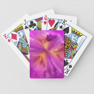 Después de la lluvia - serie abstracta 2 de la flo cartas de juego